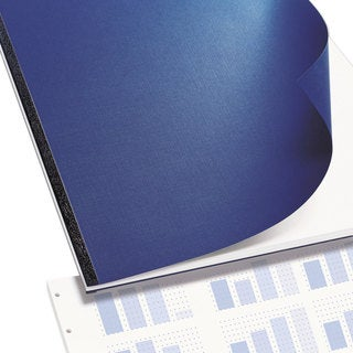 Swingline GBC VeloBind Presentation Covers 11 x 8-1/2 Navy 25 Sets/Pack
