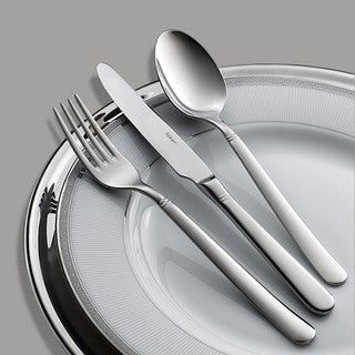 Hisar Millennium Mirror-polished 30-piece Flatware Set with Service for 6 by Hisar