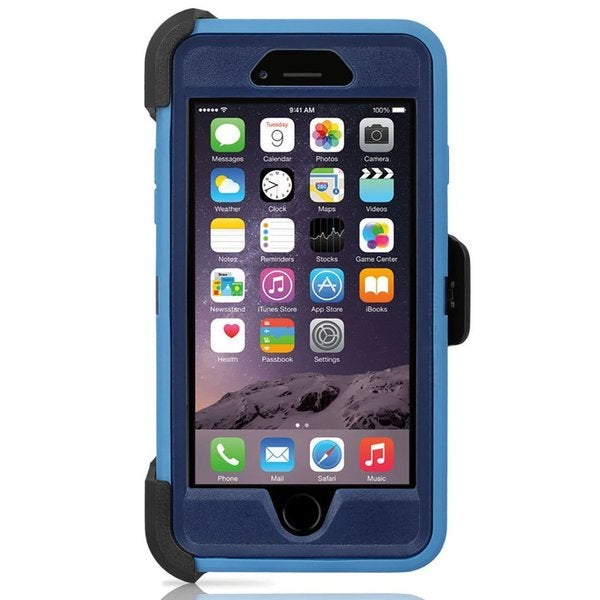Shop OtterBox Defender Series Ink Blot 77-51474 Apple iPhone 6 Plus ... 58fdd6855662