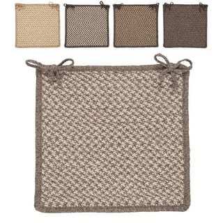 Houndstooth table linens decor for less overstock all natural eco wool chair pads set of 4 junglespirit Image collections