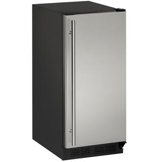 U-Line 1000 Series 1215 - 15 Inch Stainless Steel Clear Ice Machine w/ Pump https://ak1.ostkcdn.com/images/products/13868489/P20508504.jpg?impolicy=medium