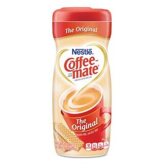 Coffee-mate Non-Dairy Powdered Creamer Original 22-ounce Canister 12/Carton