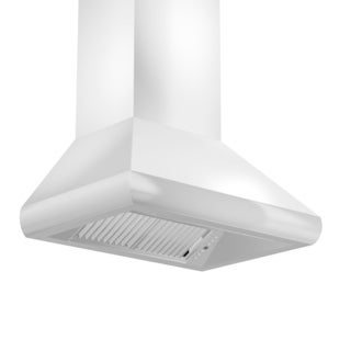 ZLINE 48 in. 1200 CFM Professional Wall Mount Range Hood in Stainless Steel (687-48)