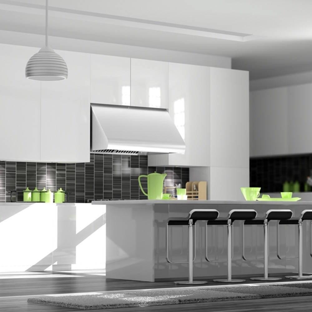 Zline Kitchen and Bath ZLINE 48 in.  Under Cabinet Range Hood in Stainless Steel (686-48) (48 in.)