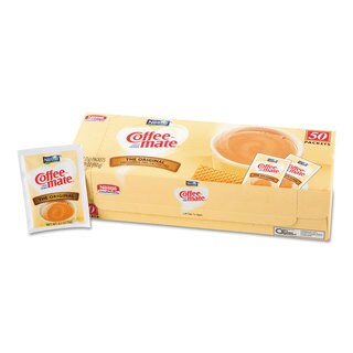 Coffee-mate Non-Dairy Powdered Creamer Original 3 g Packet 50/Box 20 Box/Carton