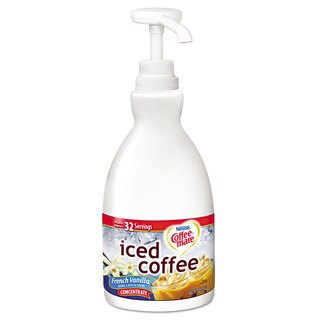 Coffee-mate Concentrated Iced Coffee French Vanilla 1.5 L Pump Bottle