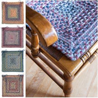 Wool Spacedye Chair Pad (Set of 4) https://ak1.ostkcdn.com/images/products/13868550/P20508652.jpg?impolicy=medium