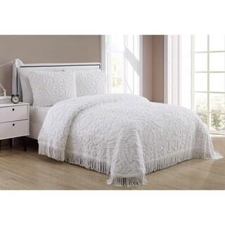 VCNY Home Allison Cotton 3 Piece Bedspread Set