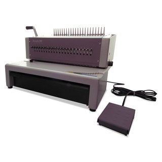 Swingline GBC CombBind C800pro Binding System Binds 500 18 1/2 x 19 5/16 x 14 7/8 Grey