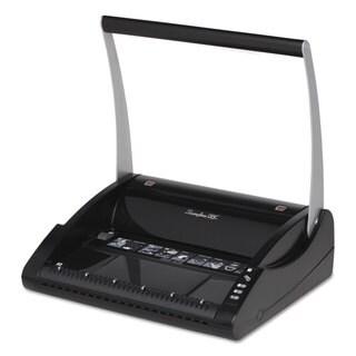 Swingline GBC ProClick P110 Manual Binding Machine Binds 110 Punches 15 Black