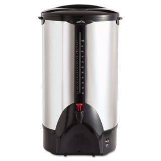 Coffee Pro 100-Cup Percolating Urn Stainless Steel