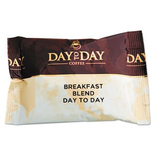 Day to Day Coffee 100-percent Pure Coffee Breakfast Blend 1.5-ounce Pack 42 Packs/Carton