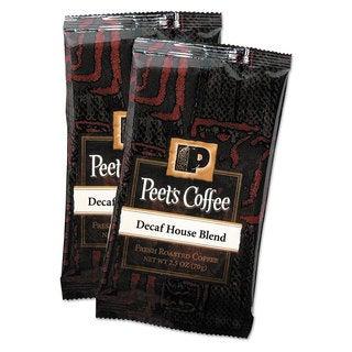 Peet's Coffee & Tea Coffee Portion Packs House Blend Decaf 2.5-ounce Frack Pack 18/Box