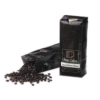 Peet's Coffee and Tea Bulk Coffee House Blend Decaf Whole Bean 1 -pound Bag