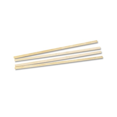 Royal Paper Wood Coffee Stirrers 5 1/2-inch Long Woodgrain 10000 Stirrers/Carton