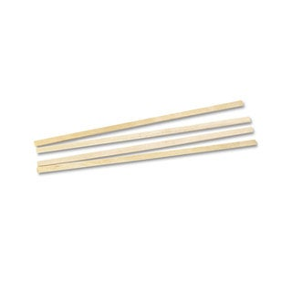 Royal Paper Wood Coffee Stirrers 5 1/2-inch Long Woodgrain 10000 Stirrers/Carton