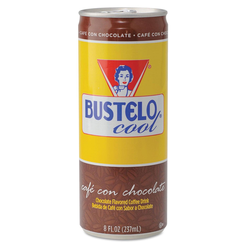 Cafe Bustelo Cool Cafe con Leche Premium Espresso Beverag...