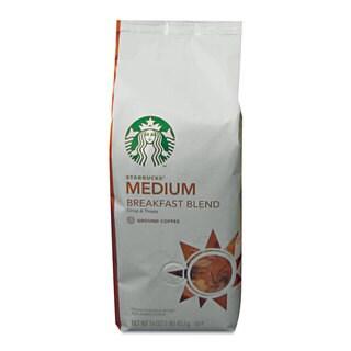 Starbucks Coffee Breakfast Blend Ground 1-pound Bag