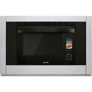 Sharp Insight 30 Supersteam 1 Cubic Foot Combination Steam Convection Oven Stainless Steel