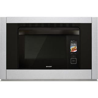 Sharp Insight 30 SuperSteam 1.1 Cubic Foot Combination Steam/ Convection Oven - Stainless Steel