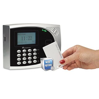 Acroprint timeQplus Proximity Time and Attendance System Badges Automated