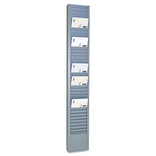 SteelMaster 40-Pocket Steel Swipe Card/Badge Rack 2-15/16-inch x 18-11/16-inch