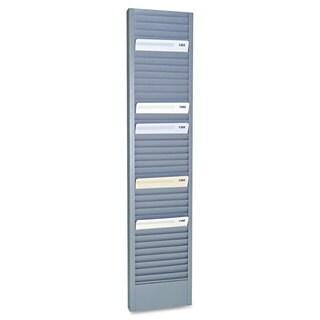 SteelMaster 40-Pocket Steel Swipe Card/Badge Rack 4-1/8-inch x 18-11/16-inch