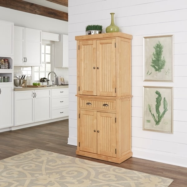 Kitchen Pantry Cabinet For Sale: Shop Nantucket Natural Pantry By Home Styles