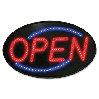 Newon Newon LED Sign Red/Blue 13 x 21