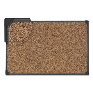 Universal Tech Cork Board 48 x 36 Cork Black Frame