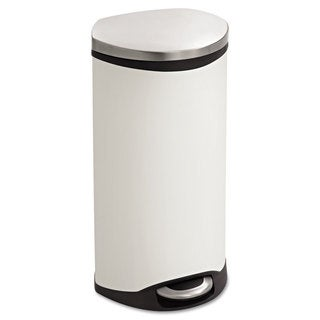 Safco Step-On Medical Receptacle 7.5gal White
