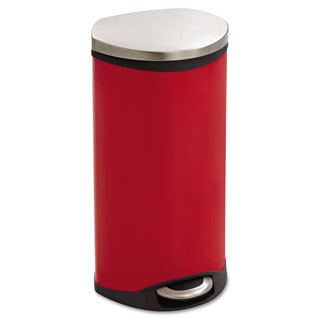 Safco Step-On Medical Receptacle 7.5gal Red