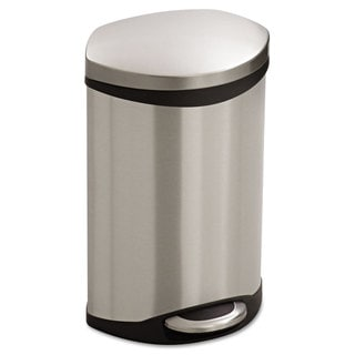 Safco Step-On Medical Receptacle 3gal Stainless Steel