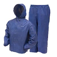 Frogg Toggs Youth Ultra-Lite Blue Rain Suit