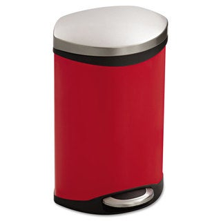Safco Step-On Medical Receptacle 3gal Red