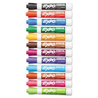 EXPO Low Odor Dry Erase Marker Chisel Tip Assorted 16/Set