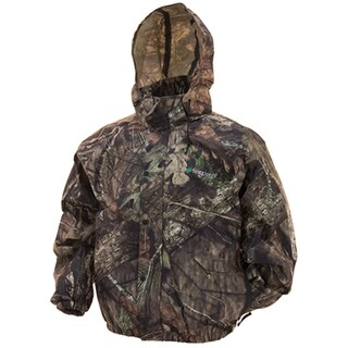 Frogg Toggs Pro Action Multicolored Plastic Camo Mossy Oak Jacket