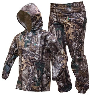 Frogg Toggs Kid's Polly Woggs Realtree Xtra Rain Suit