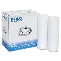 SOLO Cup Company Traveler Drink-Thru Lid White 300/Carton