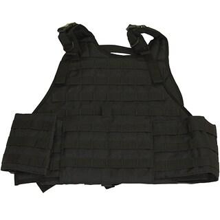 Galati Black Gear Plate Carrier Vest with Cumberbund