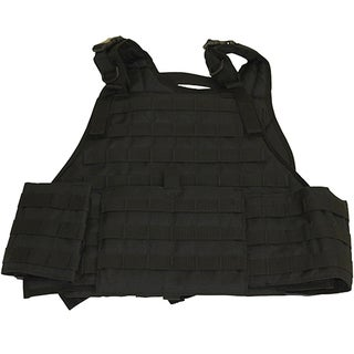 Galati Black Gear Plate Carrier Vest with Cumberbund