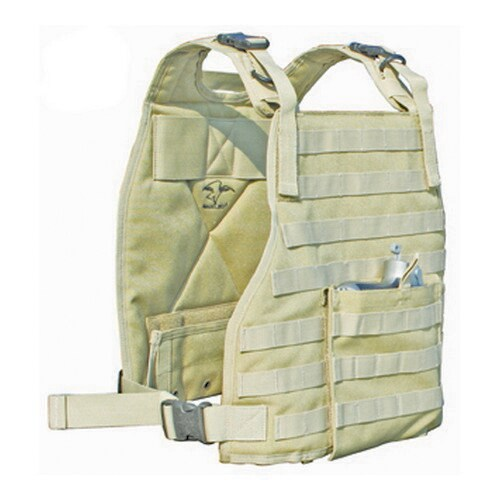 Galati Gear Tan Cordura Nylon Plate Carrier Vest