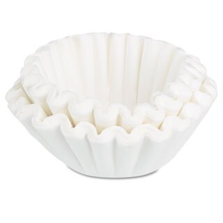 BUNN Coffee Filters 8/10-Cup Size 100/Pack 12 Packs/Carton