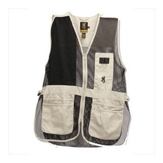 Browning Men's Trapper Creek Sand/Black Vest (2 options available)