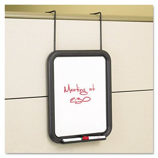 Safco Panelmate Dry Erase Marker Board 13 1/2 x 16 5/8 11 x 14 Surface Charcoal