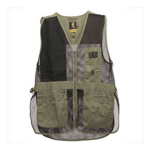 Browning Men's Trapper Creek Sage/Black Large Vest