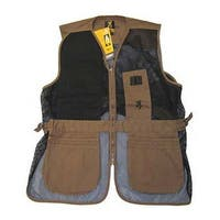 Browning Trapper Creek Clay and Black Mesh Shooting Vest