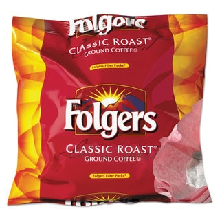 Folgers Coffee Filter Packs Regular 0.9-ounce Filter Pack 40/Carton