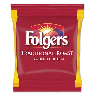 Folgers Coffee Filter Packs Regular Traditional Roast 2-ounce Filter Pack