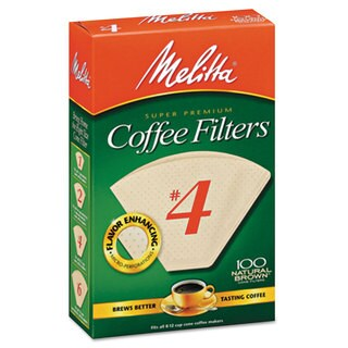 Melitta Basket Style Coffee Filters Paper 8 to 12 Cups 1200/Carton